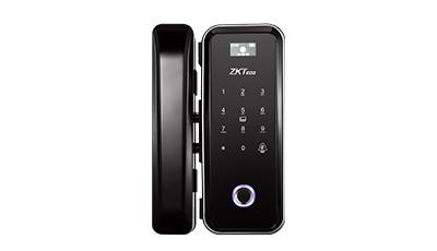 GL300 - Smartlock e fechadura digital com biometria e senha ZKTEco
